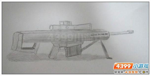 【玩家手绘】m82a1巴雷特狙击步枪-sheriff