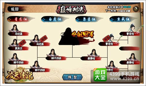 《凌天传说》淘汰赛图片说明