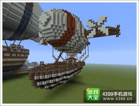 建造 的 小型 的 飞艇
