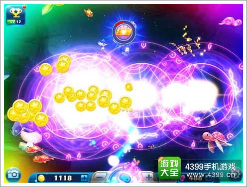《捕鱼达人3》炫酷游戏画面