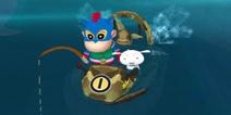 蜡笔小新3D大冲浪游戏介绍 小新水上大冒险