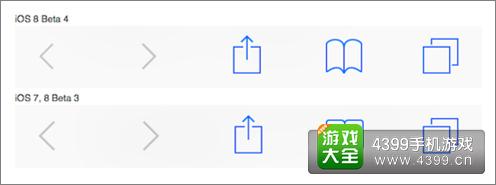 IOS 8修改后的图标