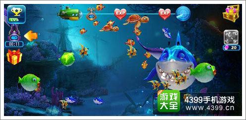 《捕鱼达人3》深海画面