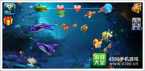 《捕鱼达人3》深海画面截图