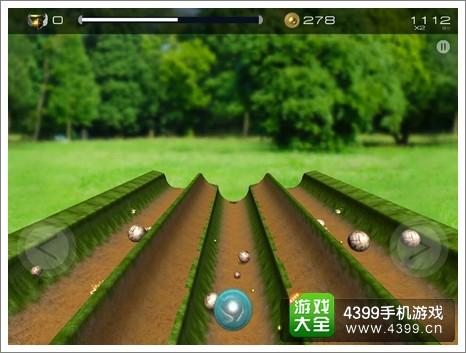 凹槽弹球世界3D操作