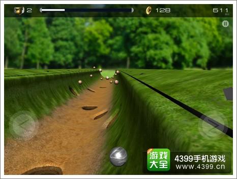 凹槽弹球世界3D体验
