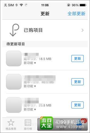 iphone已购项目