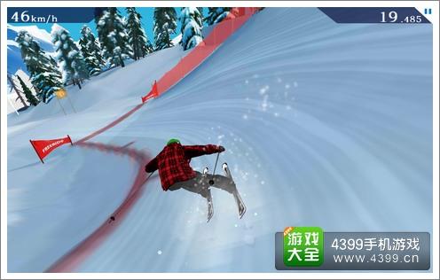 滑雪步骤流程图