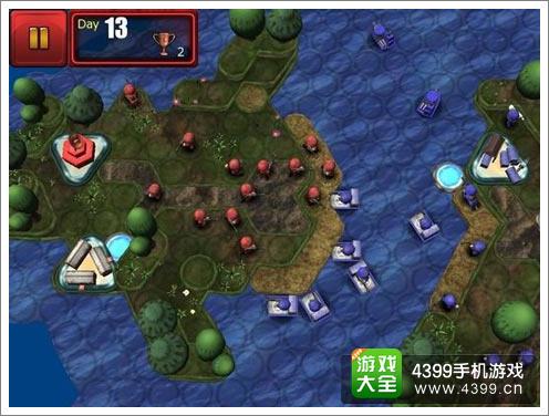 《小小大战争》游戏画面截图