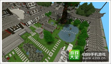我的世界手机版作品展示 名儒家邸