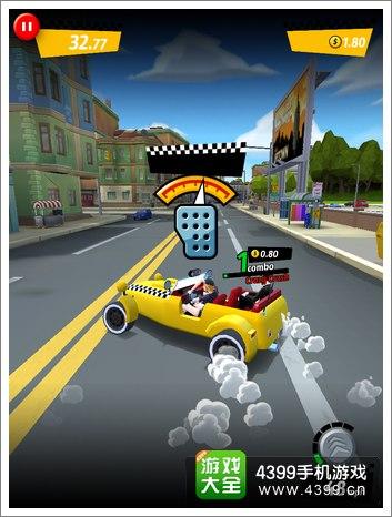 疯狂出租车:都市狂奔怎么操作