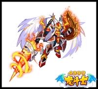 龙斗士穹焰战神技能表 穹焰战神属性图 穹焰战神图鉴