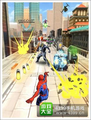 蜘蛛侠游戏