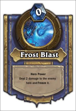 炉石传说冰霜冲击