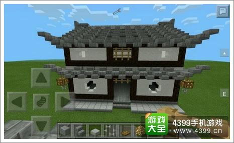 我的世界房子教程 中式房屋入门教程