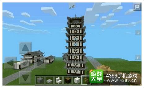 我的世界建筑攻略 中式塔入门教程