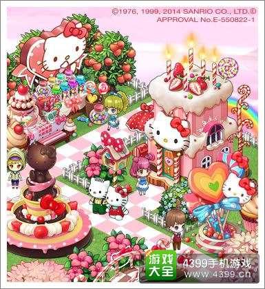 Hello Kitty入驻《全民小镇》