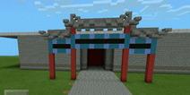 我的世界建筑教程 中式牌坊入门