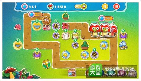 菊花保卫战神秘丛林3-4关卡