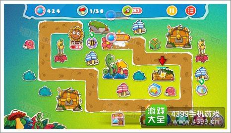 菊花保卫战神秘丛林3-4关卡攻略