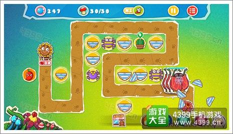 菊花保卫战神秘丛林3-5关卡攻略
