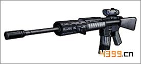 全民枪战2(枪友嘉年华)M16A4
