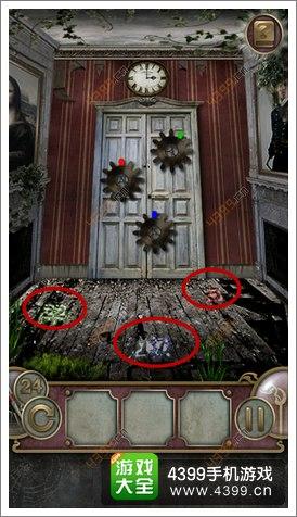 城堡密室逃亡第24关攻略