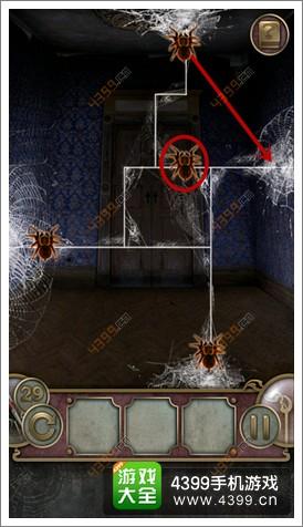 城堡密室逃亡第29关