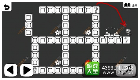 接下去直接跳跃到打问号的砖块上,然后就可以从左边的底座中取得神器