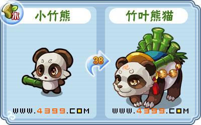 卡布西游竹叶熊猫刷什么 练级