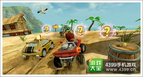 沙滩赛车比赛