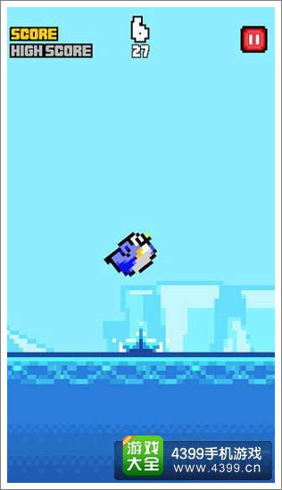 逃离南极企鹅