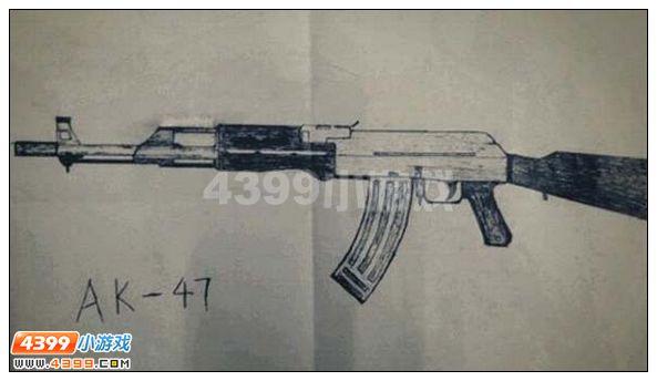 手绘枪支武器图片大全