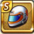 天天富翁顶级赛车选手的钢盔