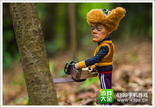 疯狂伐木工手游