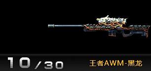 4399创世兵魂王者AWM-黑龙属性 多少钱