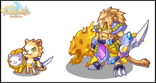 卡布仙踪异域雄狮怎么得