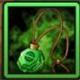 宠物小精灵木叶项链
