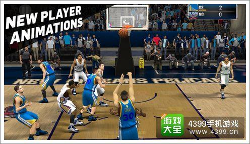 NBA 2K15操作