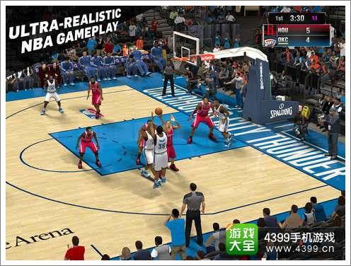 NBA 2K15画面