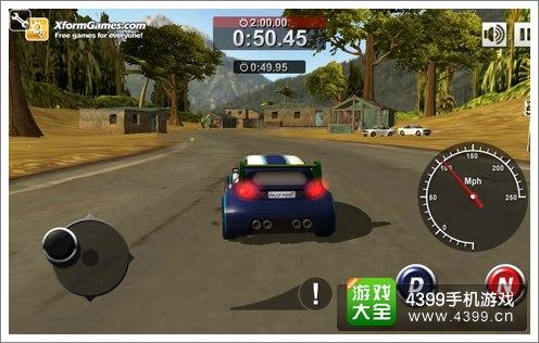 赛车小游戏4399_4399手机游戏网 拉力计时赛 游戏评测 正文  游戏采用3d模拟器为玩家