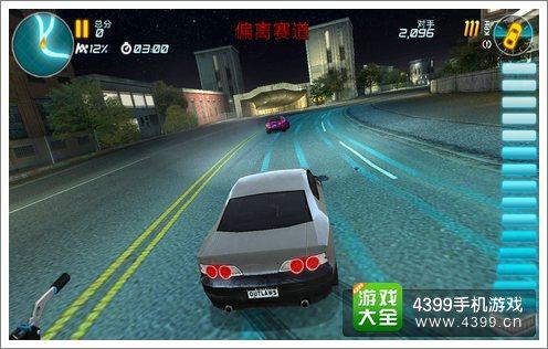 赛车小游戏4399_4399手机游戏网 疯狂漂移:街头狂飙 游戏评测 正文  赛车游戏的操作