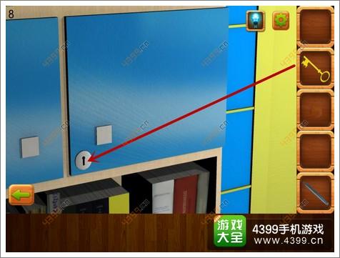 手机逃离逃脱密室4第8关攻略秘籍完美攻略蒂发攻略公寓版图片