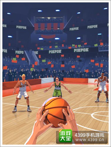 篮球明星争霸战手动控制
