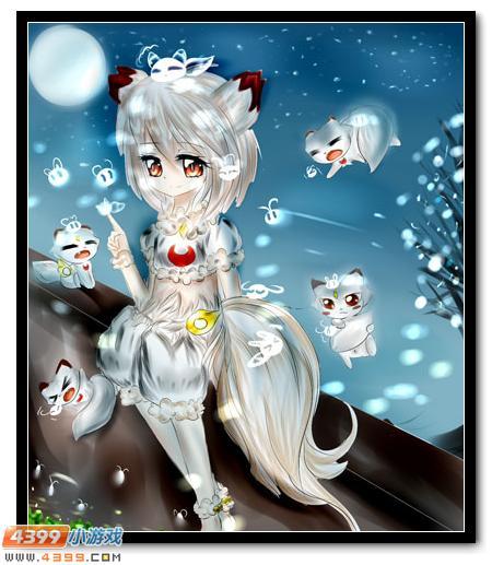 赛尔号 小让咆哮 手绘  妖狐好可爱呀,萌萌哒,还各种表情各种萌,哪些