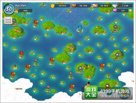 4399手机游戏网 海岛奇兵 攻略心得 正文  问题二:有的对手一直打不过
