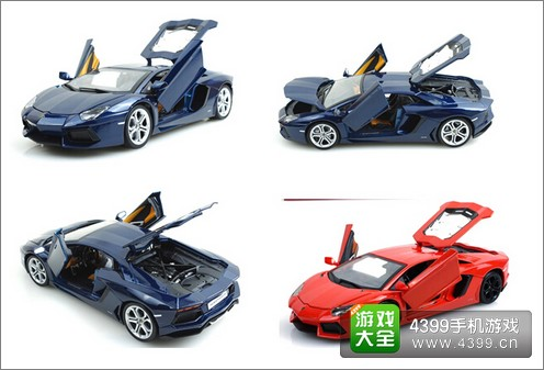 狂野飙车8赛车车模