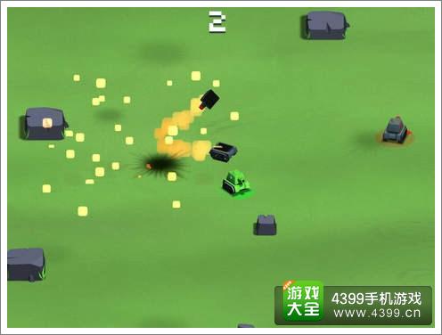 《暴走坦克大战》IOS版上架 碰碰车玩法的闷弹坦