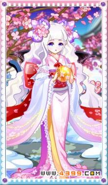 樱花树下的女孩-4399冰荧火