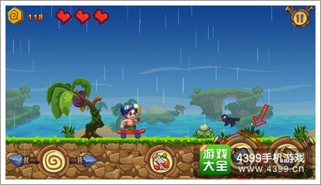 4399手机游戏网 冒险岛 攻略心得 正文  乌鸦: 如图所示,画面中出现的